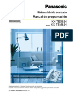 Manual Programacion Kxtes824