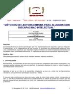 Cristina_lopez_2 Metodo de Lectoescritura en Discapacidad Intelectual