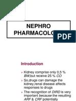 Nepro Pharmacology