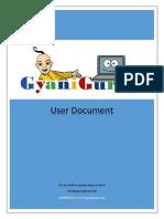 User Document GyaniGuruji