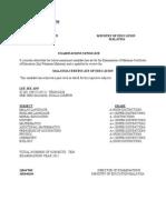 CERTIFICATIONSPM(2009)