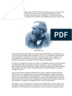 Biografia James Clerk Maxwell