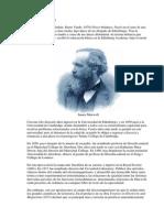 Biografia James Clerk Maxwell