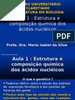 aula 4 EstruturaAcidosnucleicos