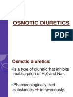 Osmotic Diuretics