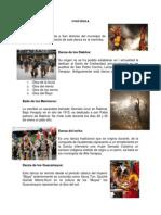 Bailes Folkloricos de Guatemala -Ilustrado
