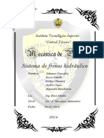 INFORME FRENOS MAQUETA