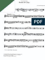 Bernstein - Rondo for Lifey Tpt e Piano