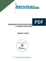 Programa Proteccion Trabajo en Alturas