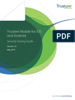 Trusteer Mobile for IOS and Android Security Testing Guide 1.6