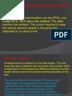 Thermal Anemometer Measurement