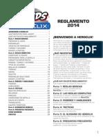 Reglamento 2014 Español