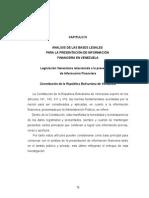 Capitulo IV.normativa Vzolana