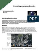 Google Earth Como Ingresar Coordenadas 12278 n02p1v