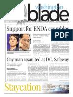 Washingtonblade.com, Volume 45, Issue 28, July 11, 2014