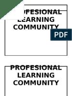 Profesional Learning Community - 3