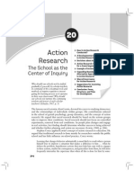 Action Research - The School as the Center of Inquiry