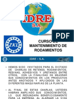 Mantenimiento de Rod 2012 Idre