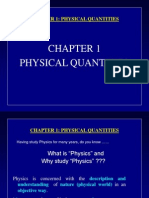 Chapter 1 - Physical Quantities