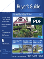 Coldwell Banker Olympia Real Estate Buyers Guide July 12th 2014