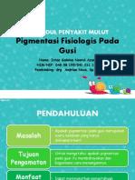 PPT LK OM Pigmentasi Fisiologis