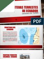 Fronteras Terrestes de Ecuador