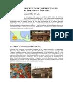 SITIOS ARQUEOLoGICOS PRINCIPALES Del Preclasico Al Posclasico Donde Esta Ubicado