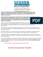 Warranty - Recon & Nomad