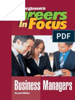 Business Managers - Careers in Focus