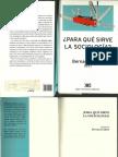 Para Que Sirve La Sociologia-Bernard Lahire