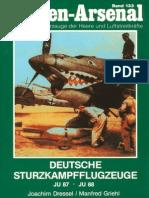 Waffen Arsenal - Band 133 - Deutsche Sturzkampfflugzeuge - Junker Ju 87 und Ju 88