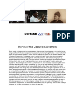 Stories of the Liberation Movement