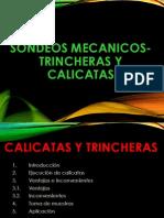 SONDEOS CALICATAS