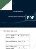 Interes Simple - Interes Compuesto PPT
