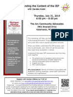 IEP 2014-07-31 Kalamazoo