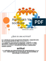 Actitudes, Valores Sociales Sesiòn 9