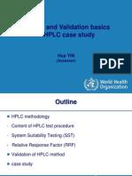 2 4 Method Validation HPLC Case Study