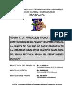 Proyecto-Galpon Gallinas de Postura Miguillas Omar