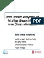 Second Generation Antipsychotics and Dm2