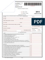 Tax Form 2013 (Trinidad)