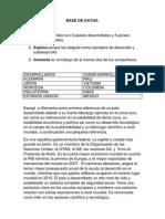 Base de Datos (Autoguardado)