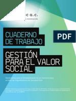 Cuaderno de Trabajo Para El Valor Social