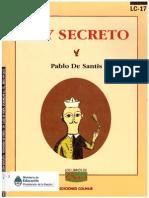 Pablo de Santis - Rey Secreto