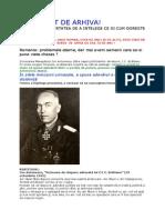 Scrisoarea Maresalului Ion Antonescu.