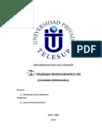 Trabajo Monografico de Economia Empresarial