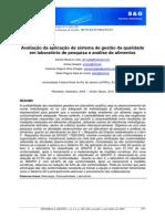 Instruções de Qualidade Em Laboratório de Análise de Alimentos