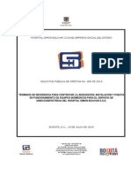 Terminos de Referencia Equipos Biomedicos Gineco 2014i005