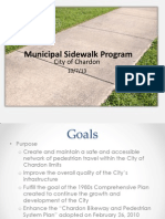 Chardon Sidewalk Program