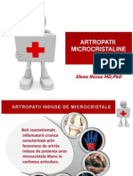 Artropatii microcristaline 2014