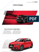 Audi A1 S line Edition Catalogue (Germany)